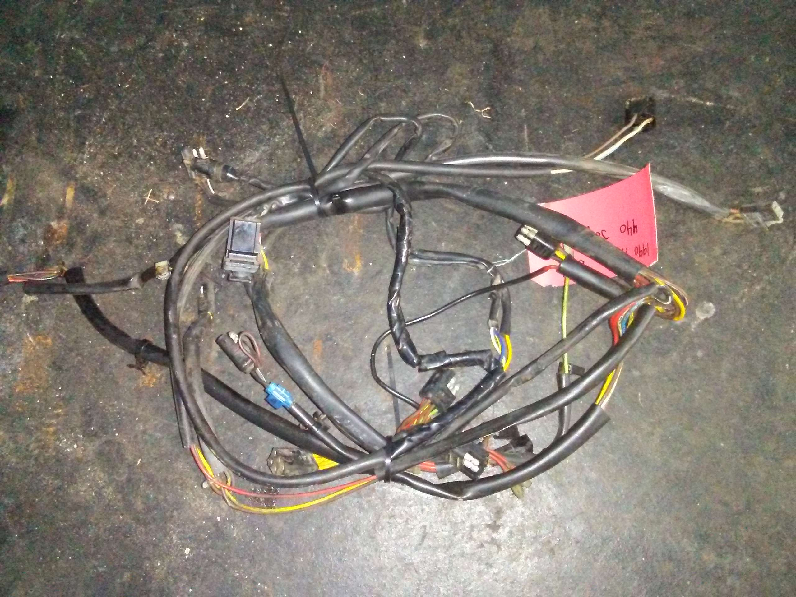 1990 – 1991 arctic cat jag 440 main wire harness # 0686-038